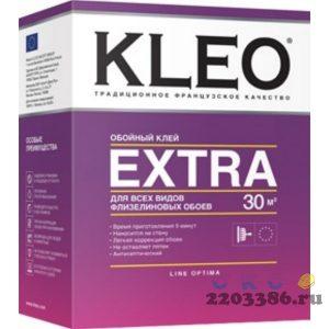 Клей обойный KLEO Line Optima EXTRA 240 гр (20 шт/уп) для обоев на флизелиновой основе на 30 м2