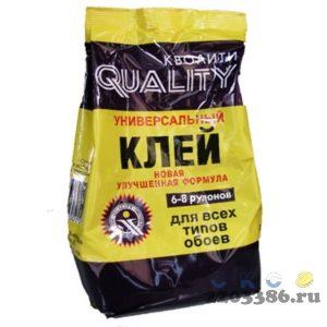 """Клей """"QUALITI"""" обойный спец.виниловый 200 гр (30 шт/уп)"""