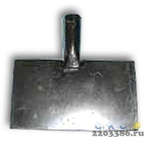 Скребок для льда с металлической рукояткой