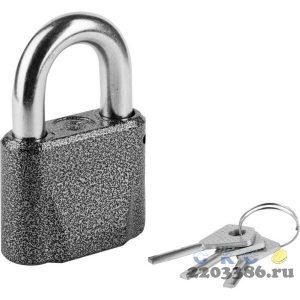 Замок навесной, дисковый механизм секрета, ВС2М1-01