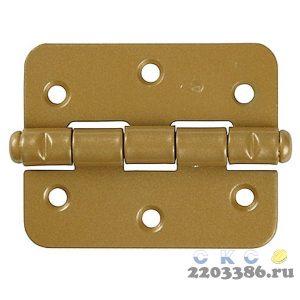 """Петля накладная стальная """"ПН-60"""", цвет золотой металлик, универсальная, 60мм"""