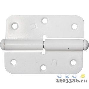 "Петля накладная стальная ""ПН-85"", цвет белый, правая, 85мм"