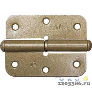 """Петля накладная стальная """"ПН-85"""", цвет золотой металлик, левая, 85мм"""