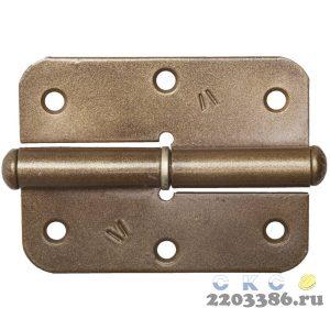 "Петля накладная стальная ""ПН-85"", цвет бронзовый металлик, левая, 85мм"