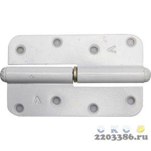 "Петля накладная стальная ""ПН-110"", цвет бронзовый металлик, левая, 110мм"
