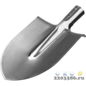 """Лопата """"Мастер-НС"""" штыковая из нержавеющей стали, без черенка, ЗУБР"""