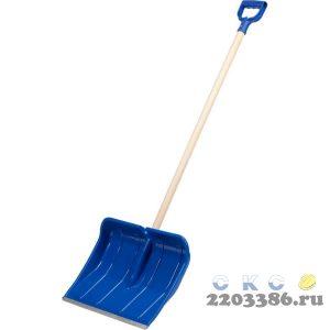 Лопата снеговая пластиковая