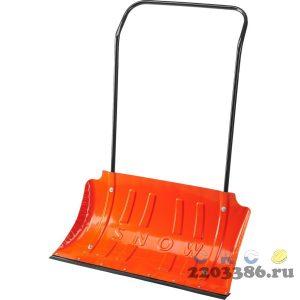 СИБИН ДС-750 движок снеговой (скрепер) стальной , 750 мм.