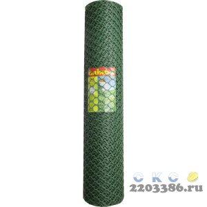 Решетка заборная Grinda, цвет хаки, 1,9х25 м, ячейка 55х58 мм