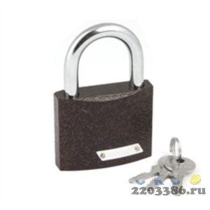 Замок навесной Avers PD-01-63, 60х49мм, d=9мм, автомат, 3 ключа (6)