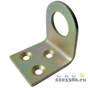 Проушина дверная УФ30х70 Г-образная оцинкованная (700)