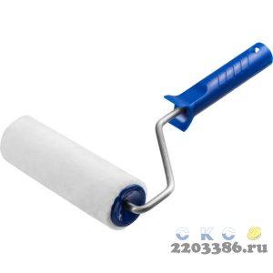 Валик малярный ВЕЛЮР 48, 180 мм, d=48 мм, ворс 4 мм, ручка d=8 мм, ЗУБР