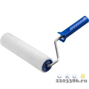 Валик малярный ВЕЛЮР 48, 240 мм, d=48 мм, ворс 4 мм, ручка d=8 мм, ЗУБР