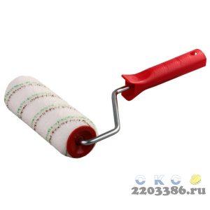 "Валик ""МИКРОТЕКС"", ворс 9мм, ручка 8мм, d=48/250мм, ЗУБР Эксперт"