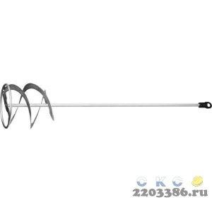 """Миксер STAYER """"MASTER"""" для красок металлический, шестигранный хвостовик, оцинкованный, 120х600мм"""
