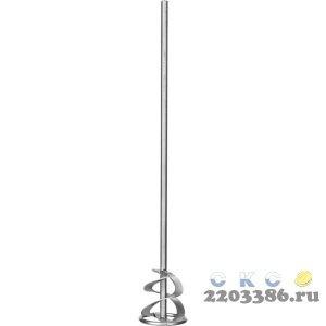 """Миксер ЗУБР """"ПРОФЕССИОНАЛ"""" для красок, шестигранный хвостовик, оцинкованный, на подвеске, 60х400мм"""