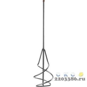 Миксер СИБИН для песчано-гравийных смесей, шестигранный хвостовик, 100х450мм