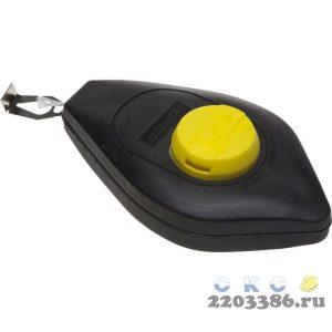 Шнур-отвес STAYER разметочный, корпус пластмассовый, 30м
