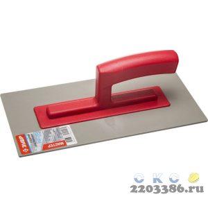 ЗУБР 140х280 мм, гладилка пластиковая, толщина 3мм