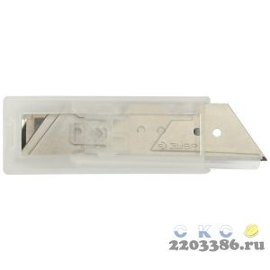 ЗУБР трапециевидные лезвия А24, 5 шт