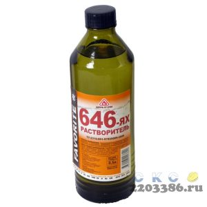 Растворитель 646