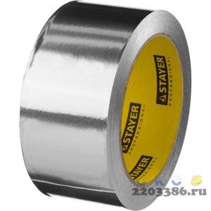Алюминиевая лента, STAYER Professional 12268-50-25, до 120°С, 50мкм, 50мм х 25м