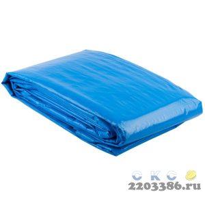 """Тент-полотно ЗУБР """"ЭКСПЕРТ"""" универс трехслойный,из тканого полимера высокой плотности 120 г/м3,с люверсами,водонепрониц,6мх8м"""
