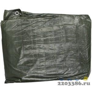 """Тент-полотно STAYER """"PROFI"""" универсальный,из тканого полимера высокой плотности 90 г/м3,с люверсами,водонепроницаемый, 3мх5м"""