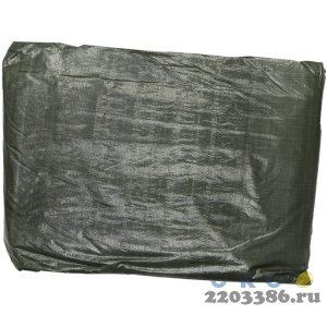 """Тент-полотно STAYER """"PROFI"""" универсальный,из тканого полимера высокой плотности 90 г/м3,с люверсами,водонепроницаемый, 6мх8м"""
