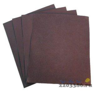 Шлифовальная бумага водостойкая 230х280мм, P 400 (10шт/уп, 50уп/кор)