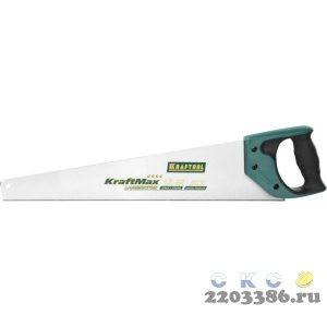 """Ножовка для точного реза """"KraftMax Laminator"""" 500 мм, 13 TPI универсальный зуб, KRAFTOOL"""