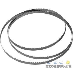ЗУБР  2234 х 10 х 0,5мм, 6TPI полотно ленточное для пилы ЗПЛ-750-305