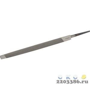 """Напильник ЗУБР """"ПРОФЕССИОНАЛ"""" трехгранный, для заточки ножовок, 150мм"""