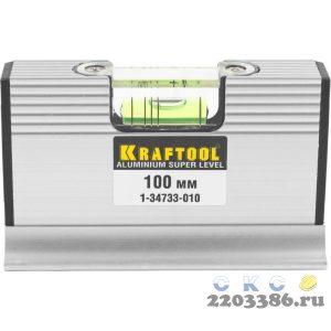 Kraftool 4-в-1 100 мм, компактный уровень