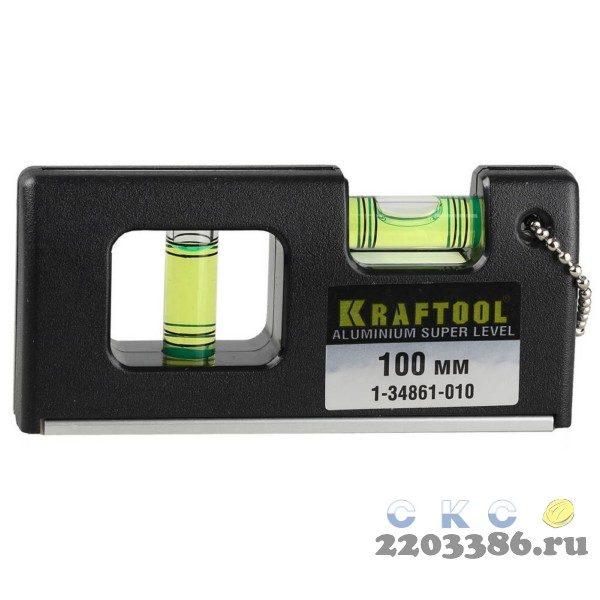 Kraftool Mini-Pro 100 мм, магнитный супер-компактный уровень