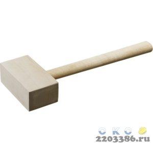 ЗУБР 600г киянка деревянная прямоугольная
