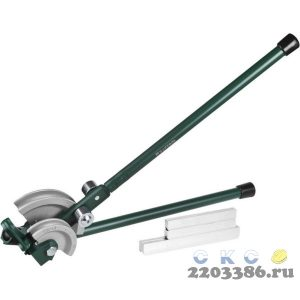 """Трубогиб KRAFTOOL """"INDUSTRIE"""" для точной гибки труб из мягкой меди под углом до 90град, 12, 15, 22 мм"""