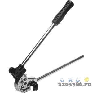 """Трубогиб KRAFTOOL """"EXPERT"""" для точной гибки труб из мягкой меди, алюминия, тонкостенной стали под углом до 180град,10мм"""
