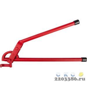 """Трубогиб ЗУБР """"ЭКСПЕРТ"""" для точной гибки труб из твердой и мягкой меди под углом до 90град,12мм(радиус скругления 43мм)"""