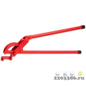 """Трубогиб ЗУБР """"ЭКСПЕРТ"""" для точной гибки труб из твердой и мягкой меди под углом до 90град,15 мм(радиус скругления 60мм)"""
