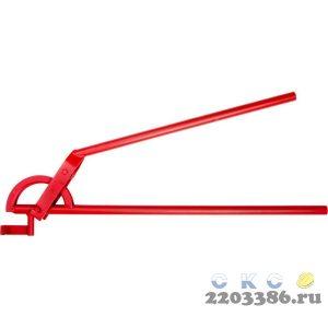 """Трубогиб ЗУБР """"ЭКСПЕРТ"""" для точной гибки труб из твердой и мягкой меди под углом до 90град, 22мм(радиус скругления 87мм)"""