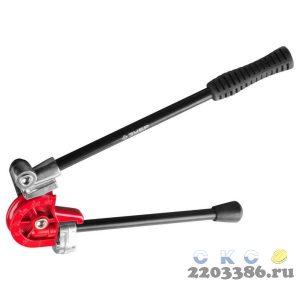 """Трубогиб ЗУБР """"ЭКСПЕРТ"""" для точной гибки труб из мягкой меди, алюминия, тонкостенной стали под углом до 180град,3/8"""""""