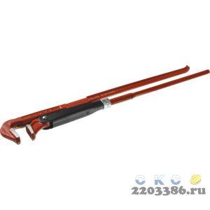 ЗУБР Мастер-90, №3, ключ трубный, прямые губки