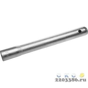Ключ трубчатый свечной, с резиновой вставкой, оцинкованный, 21х220мм