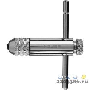 ЗУБР M3- M10, Метчикодержатель с храповым механизмом и реверсом