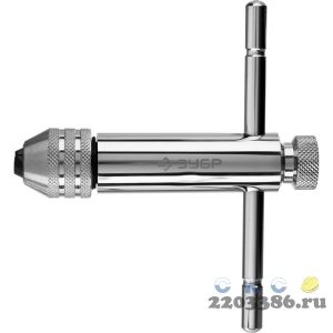 ЗУБР M5- M12, Метчикодержатель с храповым механизмом и реверсом