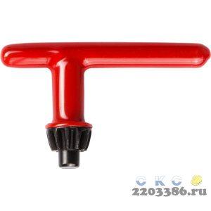 Ключ ЗУБР для патрона дрели 10 мм, с резиновым покрытием