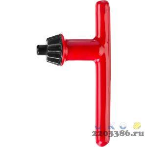 Ключ ЗУБР для патрона дрели 13 мм, с резиновым покрытием