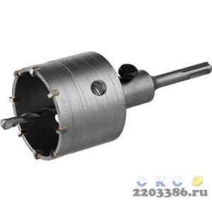 "Коронка по бетону ЗУБР ""МАСТЕР"" с державкой SDS-Plus, 73 мм"