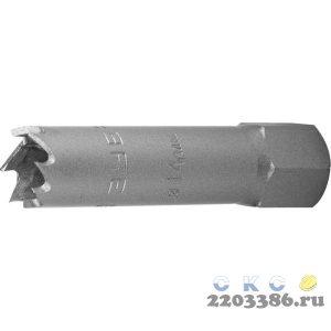 ЗУБР 14мм, коронка биметаллическая, быстрорежущая сталь
